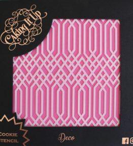 Deco Cookie Stencil