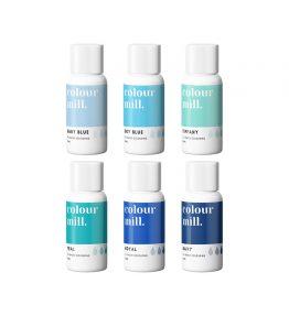 Colour Mill Blue 6 pack (20ml bottles)