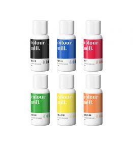 Colour Mill Primary 6 pack (20ml bottles)
