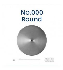 Piping Tip - 000 Round