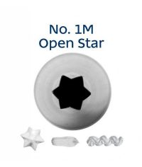 Piping Tip - 1M Open Star