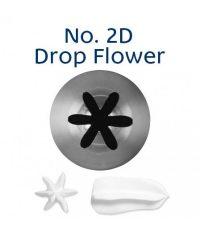 Piping Tip - 2D Drop Flower