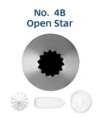 Piping Tip - 4B Open Star