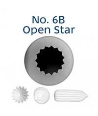Piping Tip - 6B Open Star