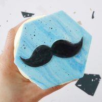 Moustache - Outboss x Wish Upon A Cupcake
