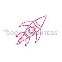 Rocket Ship PYO Stencil