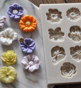 Mixed Flowers Mould