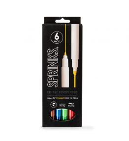 Edible Food Pen Set - Primary (6 Pack)