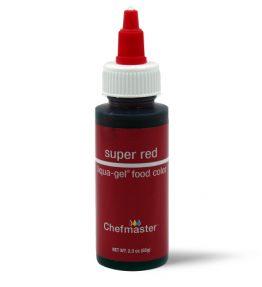 Chefmaster Super Red Liqua-Gel 2.3oz (68ml)