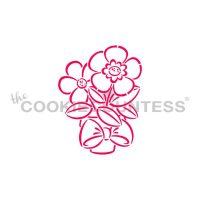 Spring Flower Pot PYO Stencil