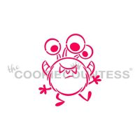 Three Eyed Monster PYO Stencil