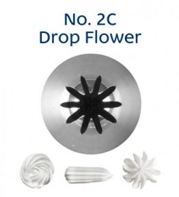 Piping Tip - 2C Drop Flower
