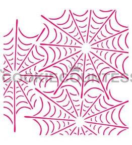 Tangled Web Stencil