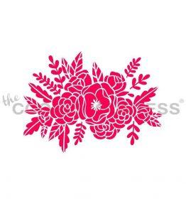 Wild Flowers Stencil