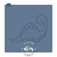 Brontosaurus Stencil