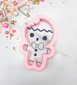 Gingerbread Boy with Bite Cutter