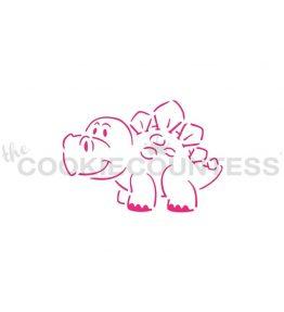 Friendly Dinosaur PYO Stencil