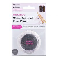 Water Activated Paint: Charcoal