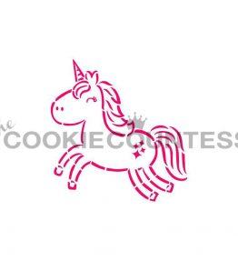 Cute Unicorn PYO Stencil