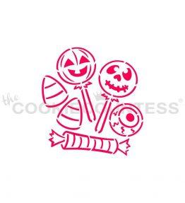 Halloween Candy PYO Stencil