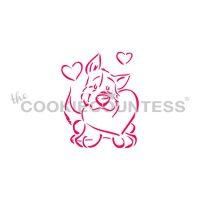 Puppy Love PYO Stencil