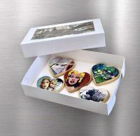 "Cookie Box Rectangle 10x7x2"""