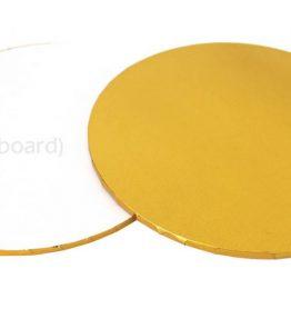 Masonite/MDF Cake Board Gold