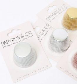 Foil Baking Cups Medium (50 pack)