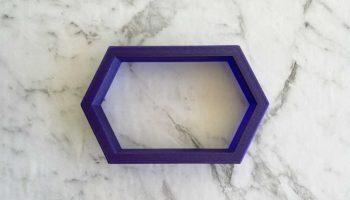 Elongated Hexagon Cutter